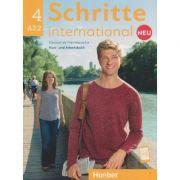 Schritte international Kurs-und Arbeitsbuch  4 A2.2