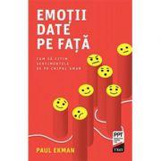 Emoţii date pe faţa