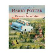 Harry Potter și Camera Secretelor (ed. ilustrată) - J.K. Rowling