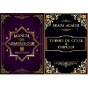 Pachet Manual de Numerologie + Tehnici de citire a chipului (Suada si Eduard Agachi)