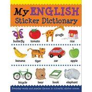 My English Sticker Dictionary (Language Sticker Books)