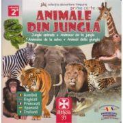 Prima carte cu animale din jungla
