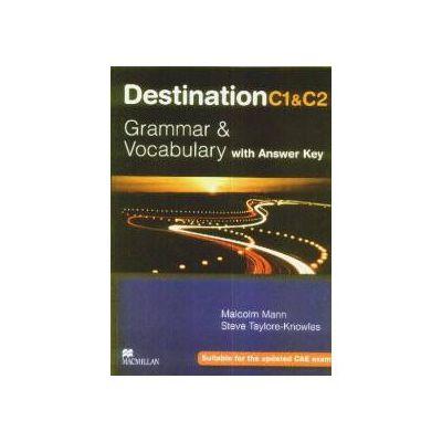 Destination C1 C2 Grammar and vocabulary with answer key