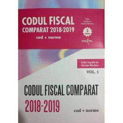 Codul Fiscal Comparat 2018-2019 (cod+norme) - 3 Volume