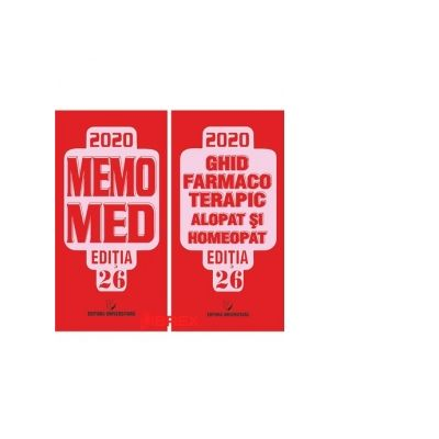 Memomed 2020 + Ghid Farmacoterapic Alopat si Homeopat - Editia 26