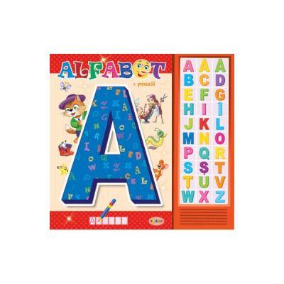 Carte cu sunete: Alfabet + poezii - Inesa Tautu