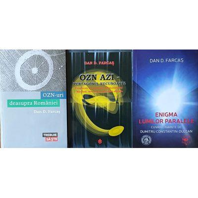 Dan Farcas - pachet 3 carti