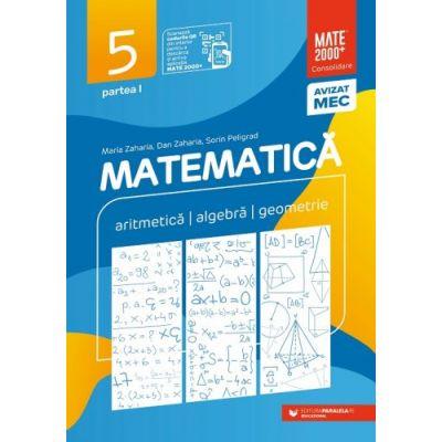 Matematică. Aritmetică, algebră, geometrie. Clasa a V-a. Consolidare. Partea I