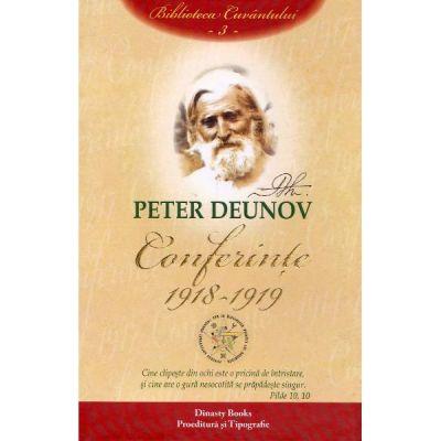 Conferinte: 1918-1919 Vol.3 - Peter Deunov