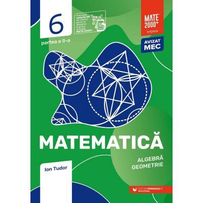 Matematică. Algebră, geometrie. Caiet de lucru. Clasa a VI-a. Inițiere. Partea a II-a