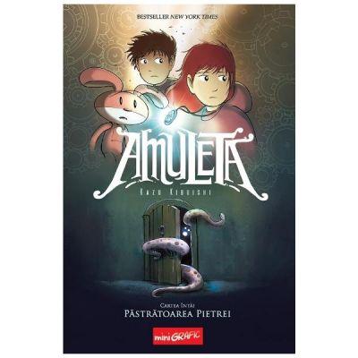 Amuleta. Cartea 1: Pastratoarea pietrei - Kazu Kibuishi