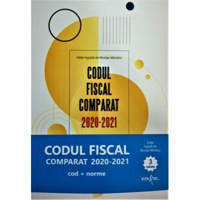 Codul Fiscal Comparat 2020-2021 (Cod+Norme) 3 volume - Nicolae Mandoiu