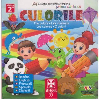 Prima carte cu culorile