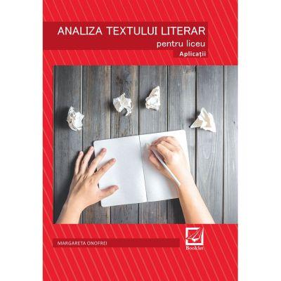 Analiza textului literar - Margareta Onofrei
