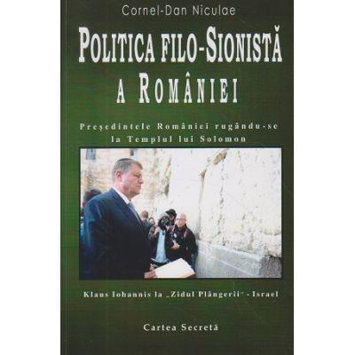 Politica filo-sionista a Romaniei
