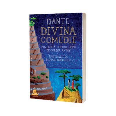 Divina comedie povestita pentru copii - Corina Anton