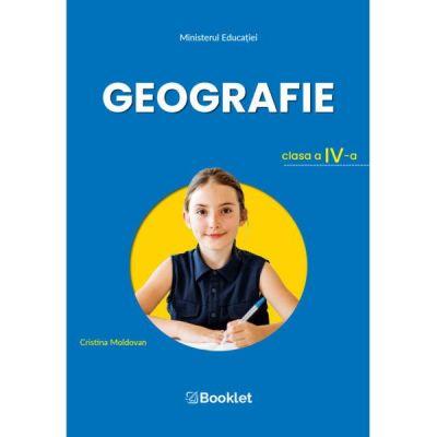 Manual geografie clasa a IV a de Cristina Moldovan