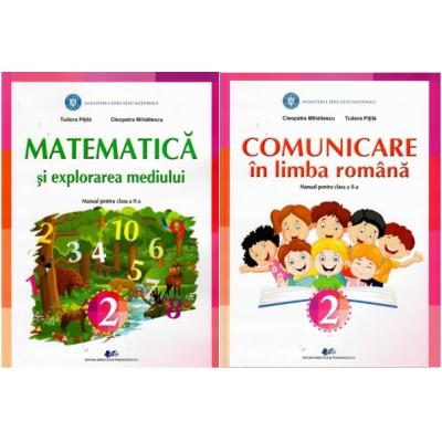 Set Manuale Comunicare in limba romana si Matematica si explorarea mediului pentru clasa a II-a - Tudora Pitila, Cleopatra Mihailescu