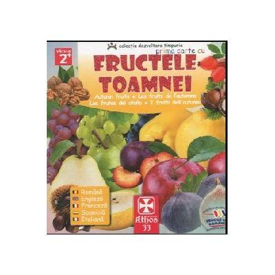 Prima carte cu Fructele Toamnei