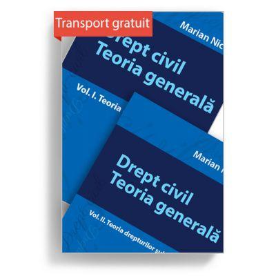 Pachet Drept civil. Teoria generală. Vol. I, Vol. II